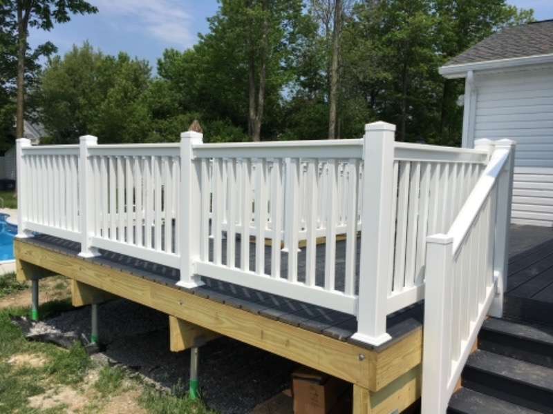 Patio Deck and ADA Walkway
